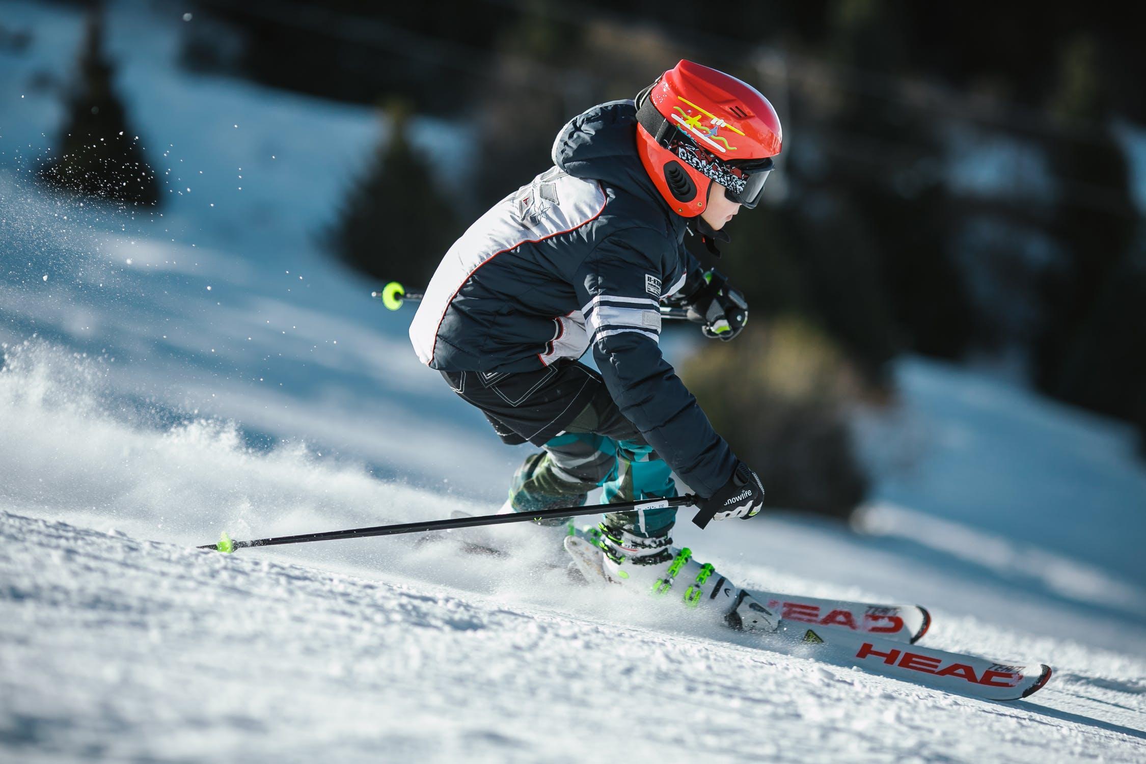 Skiend kind